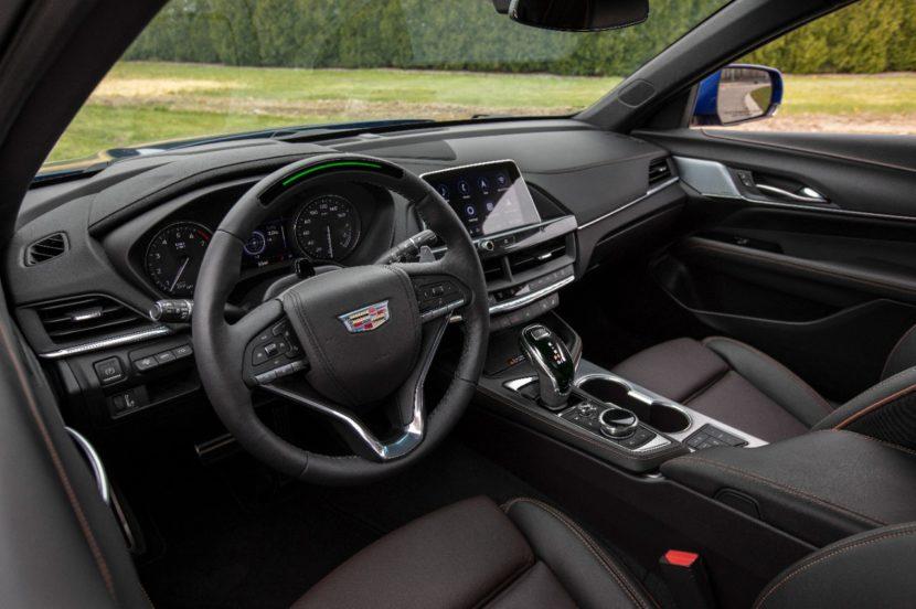 2020 Cadillac CT4 V 011 830x552