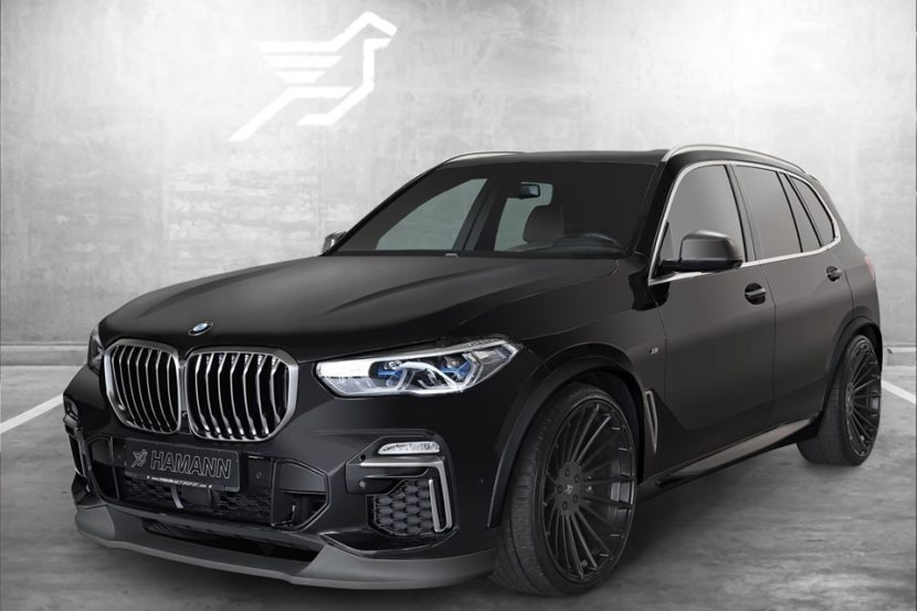 hamann offers preview of bmw g05 x5 tuning program. Black Bedroom Furniture Sets. Home Design Ideas