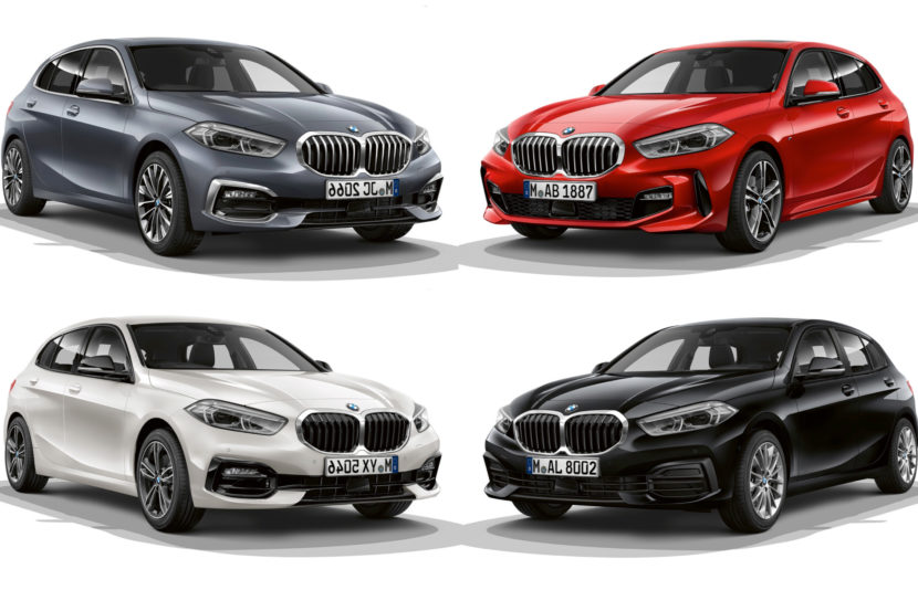 Ongebruikt 2019 BMW 1 Series F40: M Sports, Sport Line & Luxury Line in FZ-03