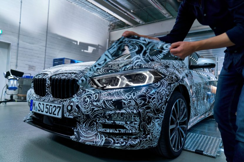 BMW 1 Series Unwrapping 2 830x553