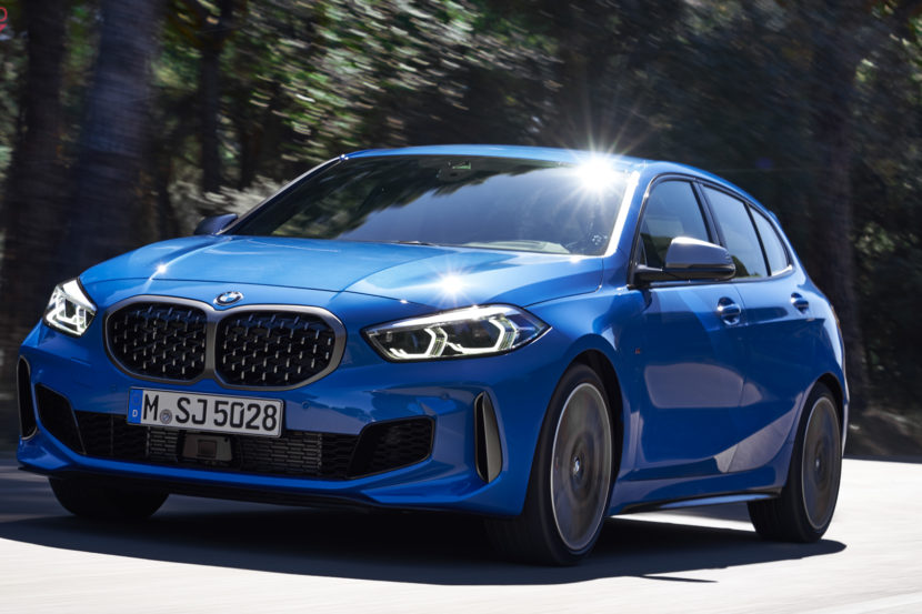 BMW 1 series goes against A-Class and A3 in comparison test
