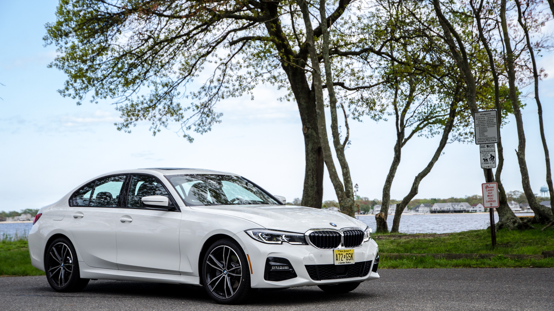 C&D Test: BMW 330i vs Alfa Romeo Giulia, Genesis G70 and Volvo S60