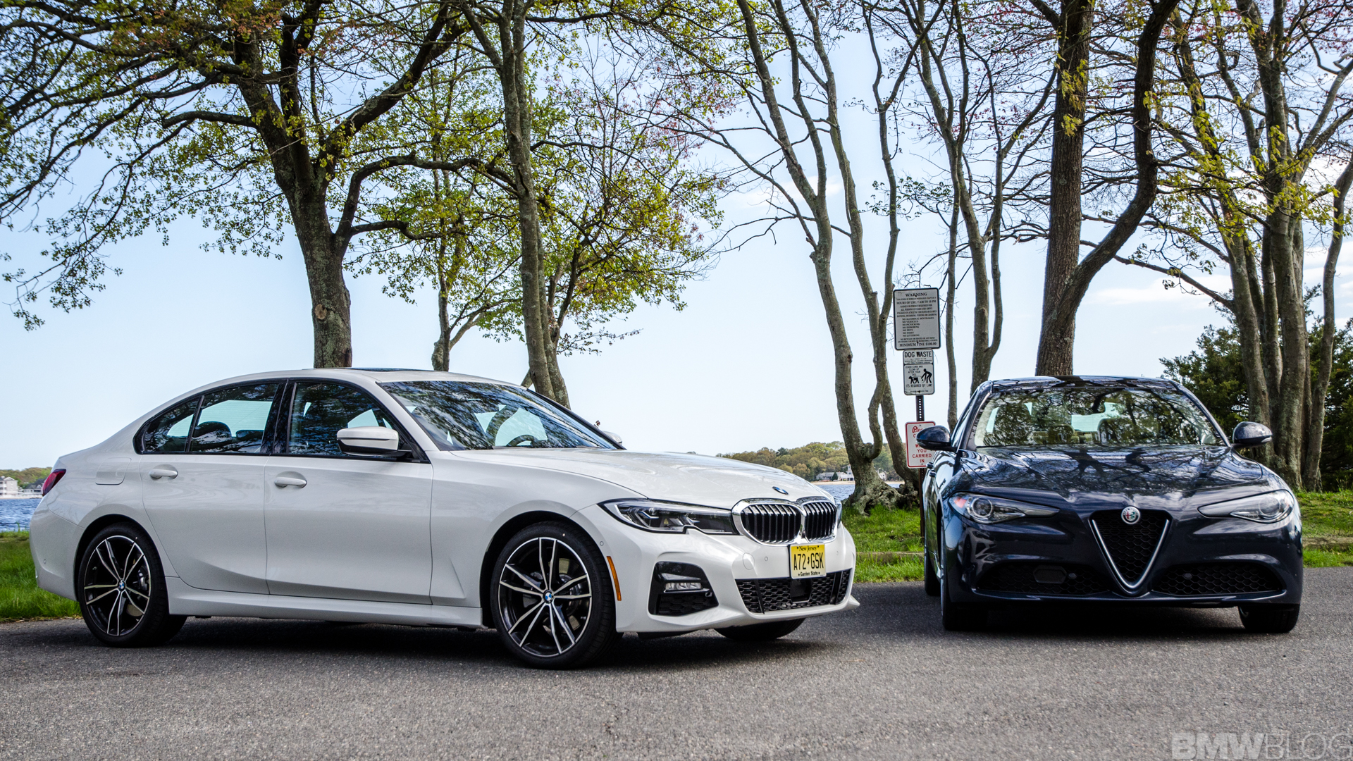 BMW 330i xDrive vs Alfa Romeo Giulia Q4 1 of 37