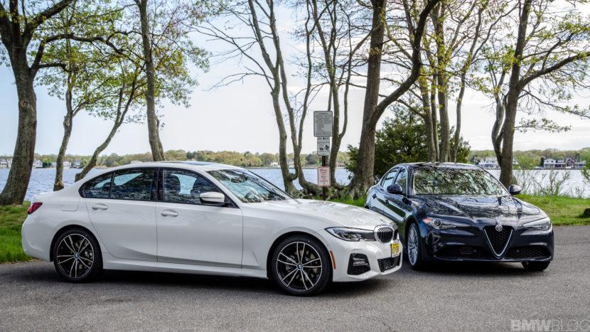 BMW 330i xDrive vs Alfa Romeo Giulia Q4 3 of 37 830x467