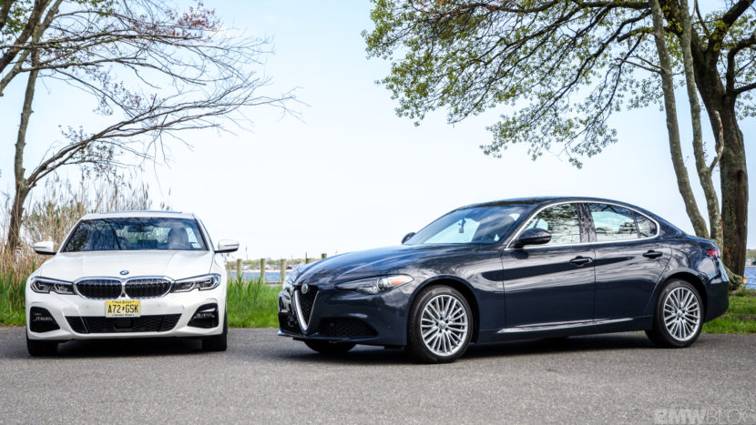 BMW 330i xDrive vs Alfa Romeo Giulia Q4 4 of 37 830x467