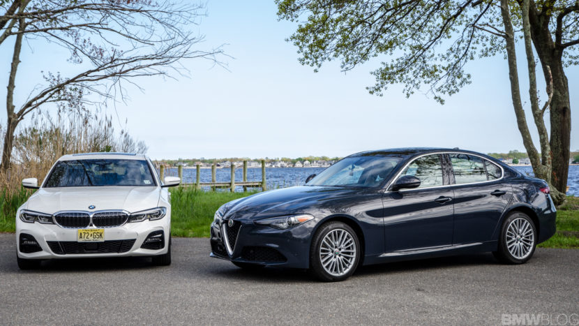 BMW 330i xDrive vs Alfa Romeo Giulia Q4 5 of 37 830x467