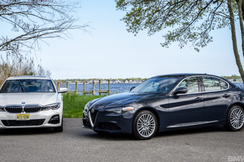 BMW 330i xDrive vs Alfa Romeo Giulia Q4 5 of 37 830x553