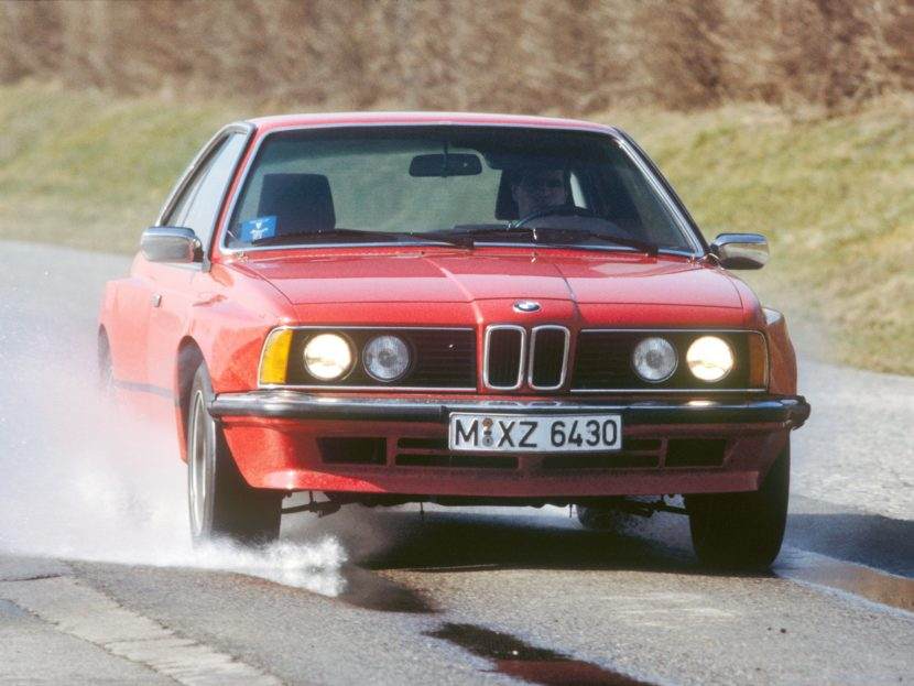 BMW once tested a V12 in the BMW 6 Series (E24) – Cars and News