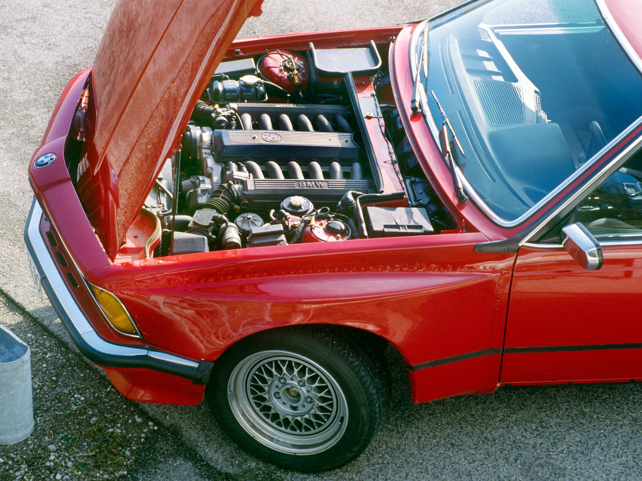 Bmw Once Tested A V12 In The Bmw 6 Series E24