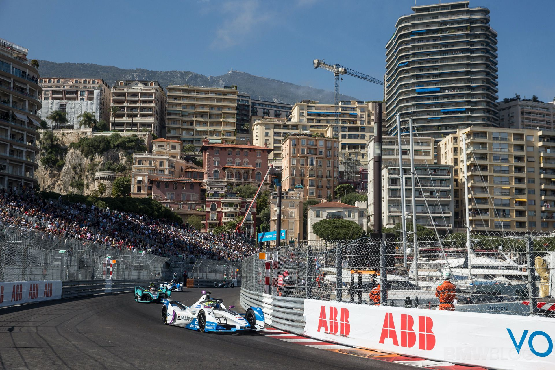 BMW Formula E Monaco 12