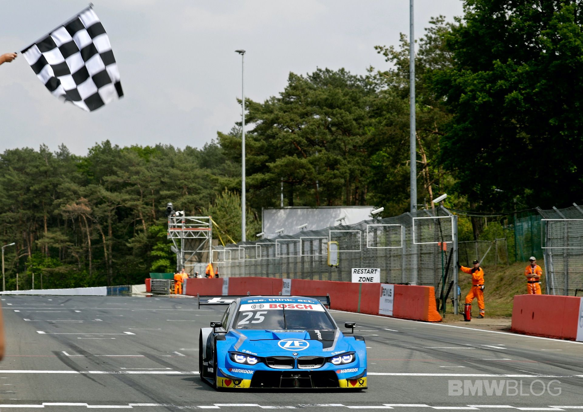 BMW M Motorsport congratulates the DTM on its 500th race