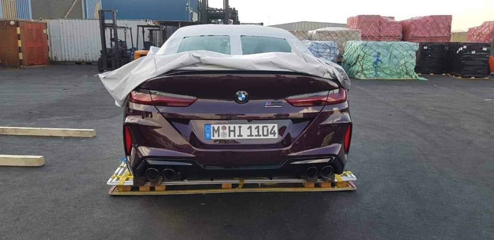 2020 BMW M8 Competition leaks again!