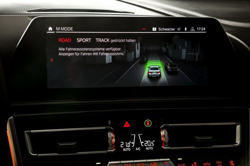 BMW M8 M button 37 830x553