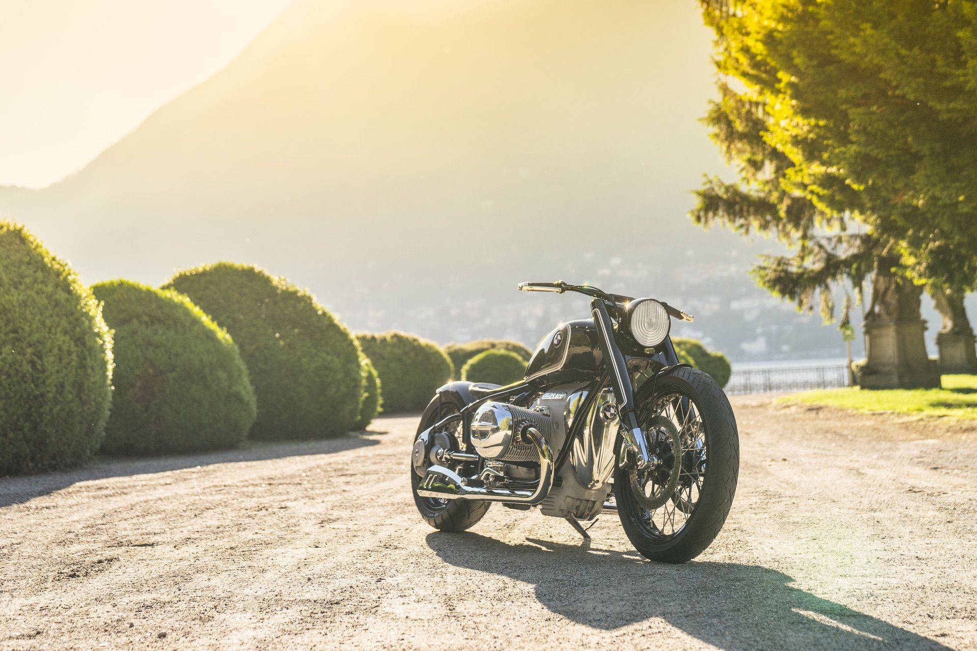 BMW Motorrad Concept R18 will make its world debut at 2019 Concorso d'Eleganza Villa d'Este