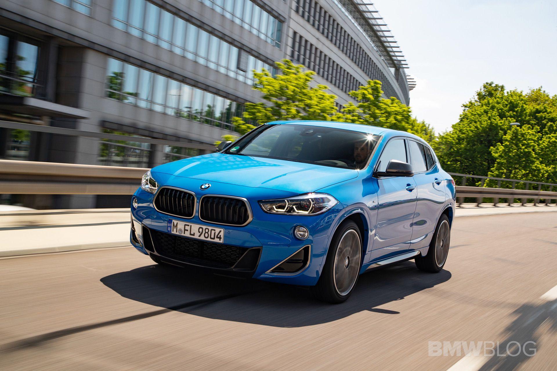 BMW X2 M35i Misano Blue 05