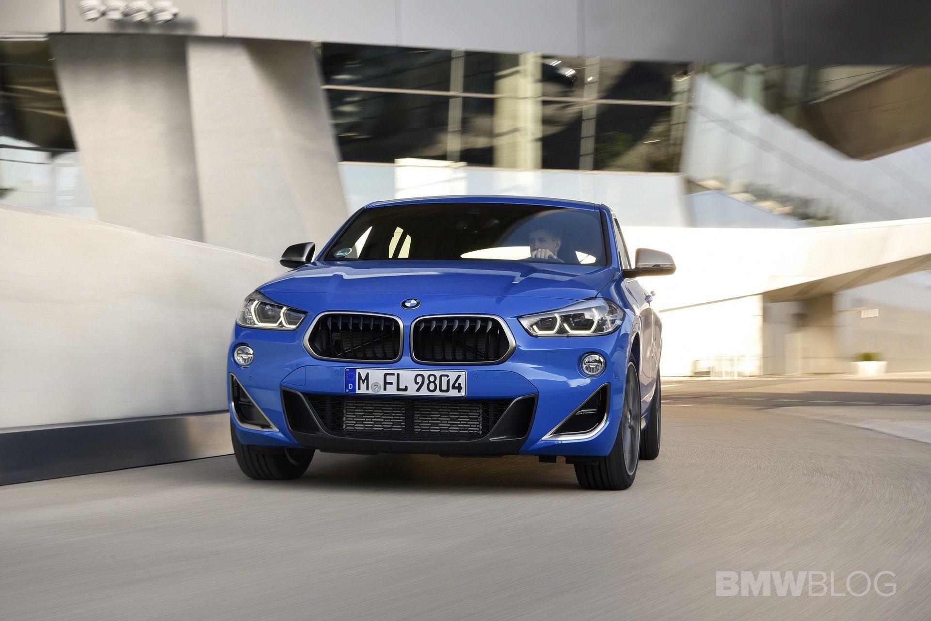 BMW X2 M35i Misano Blue 15
