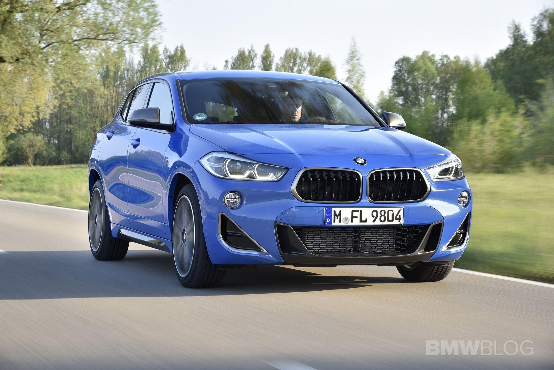BMW X2 M35i Misano Blue 26