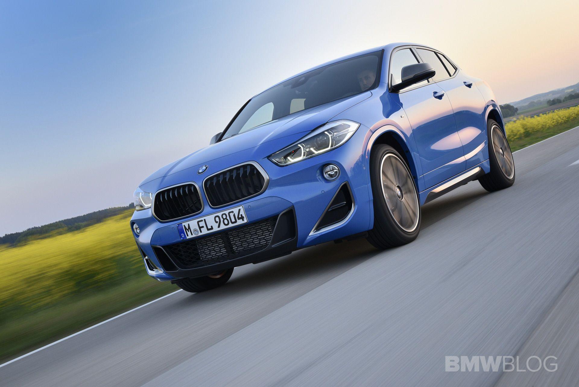 BMW X2 M35i Misano Blue 44