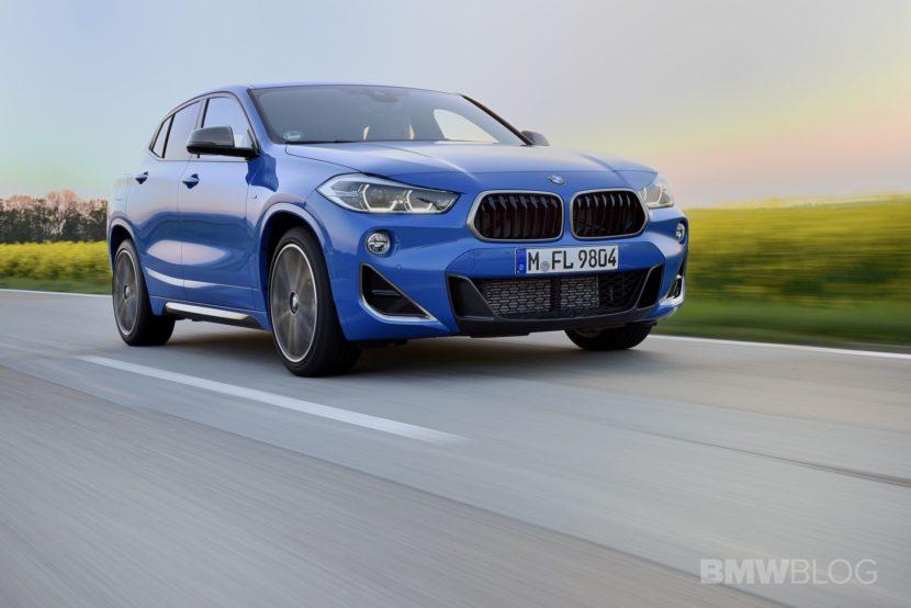 BMW X2 M35i Misano Blue 45 830x554