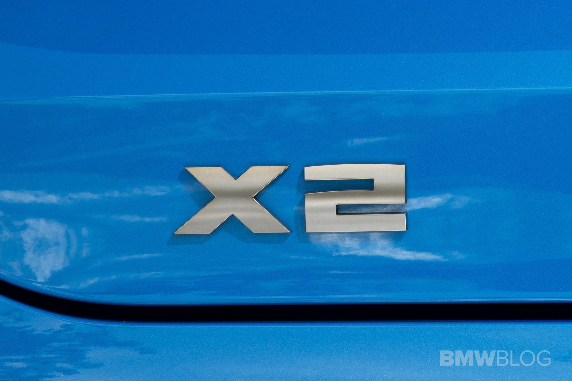 BMW X2 M35i Misano Blue 72