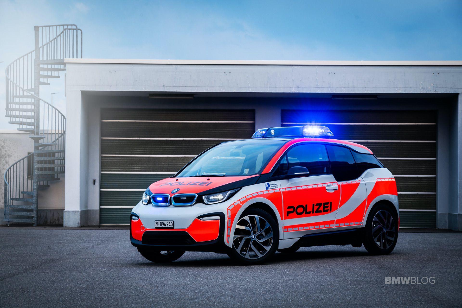 BMW i3 Zurich Police 02