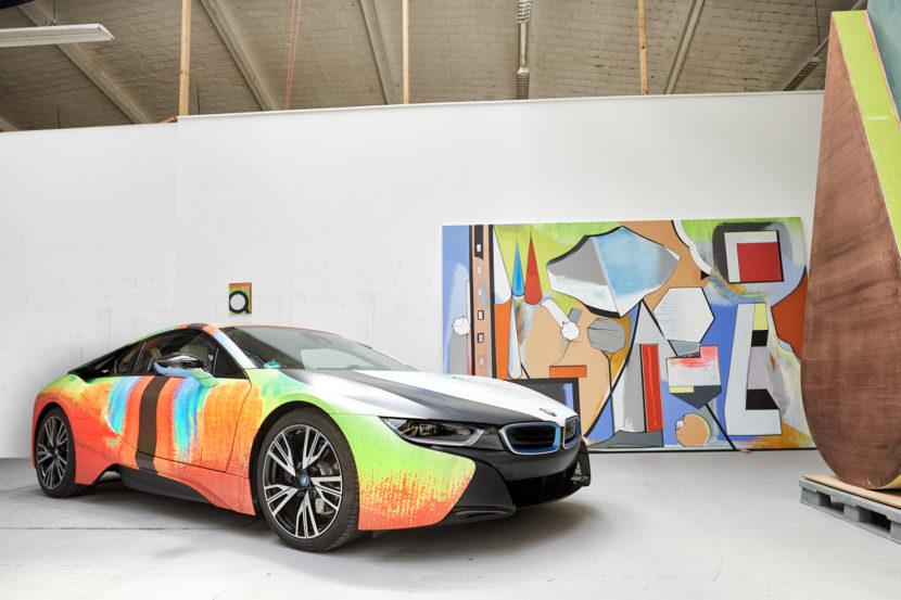 BMW i8 Art Work 2 of 17 830x553
