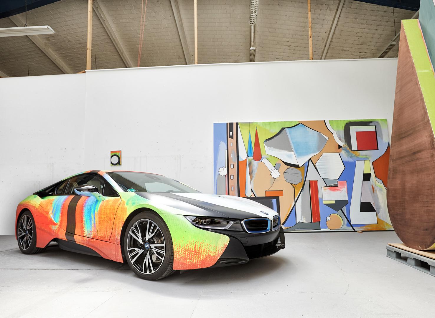 BMW i8 Art Work 2 of 17