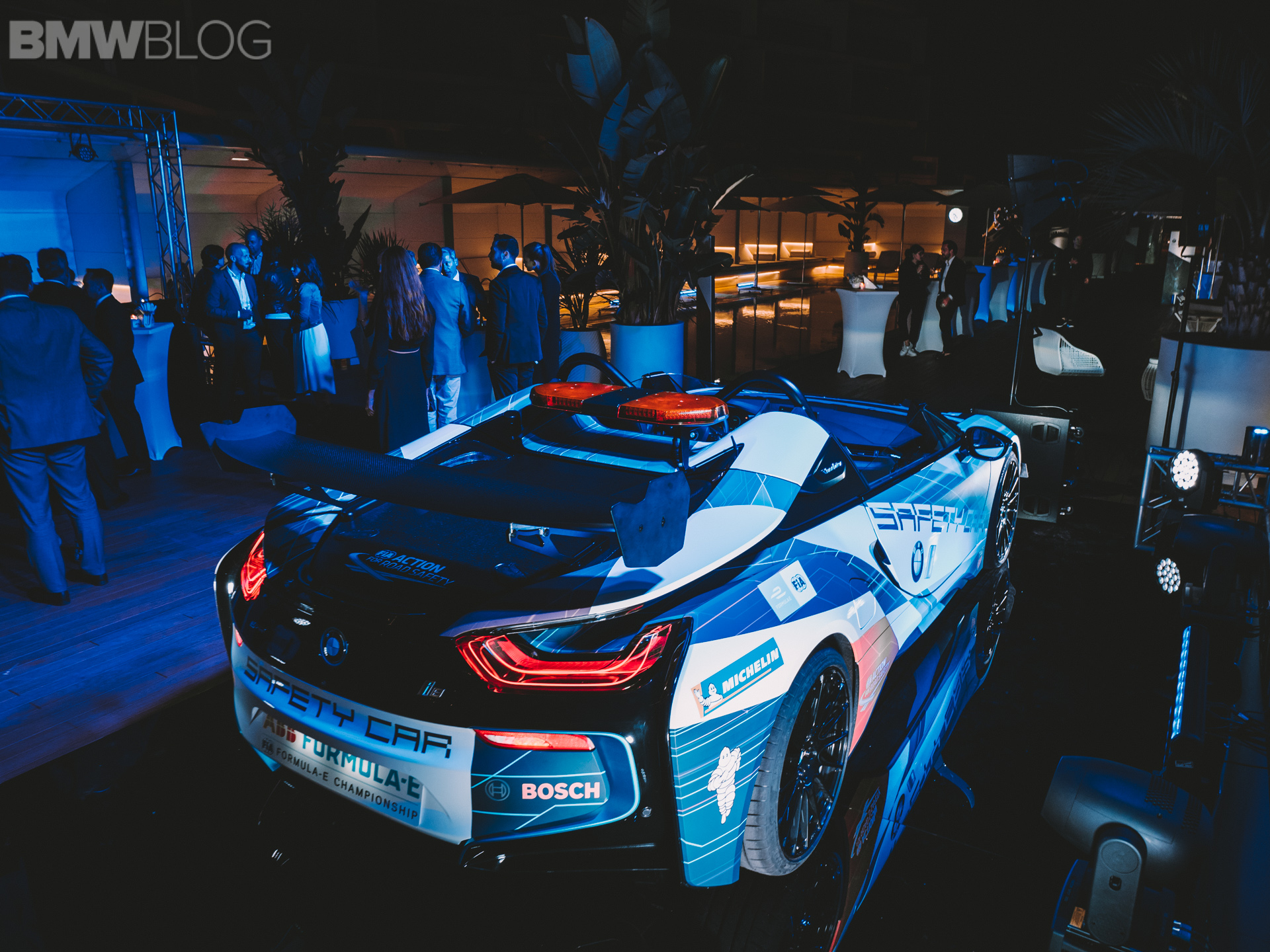 Real life photos: BMW i8 Roadster Safety Car