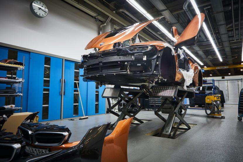BMW i8 Roadster Safety Car Development 08 830x553