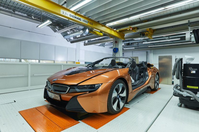 BMW i8 Roadster Safety Car Development 15 830x553