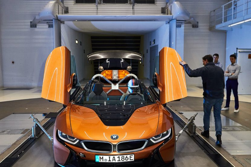 BMW i8 Roadster Safety Car Development 25 830x553