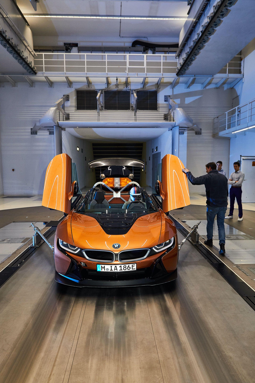 BMW i8 Roadster Safety Car Development 25