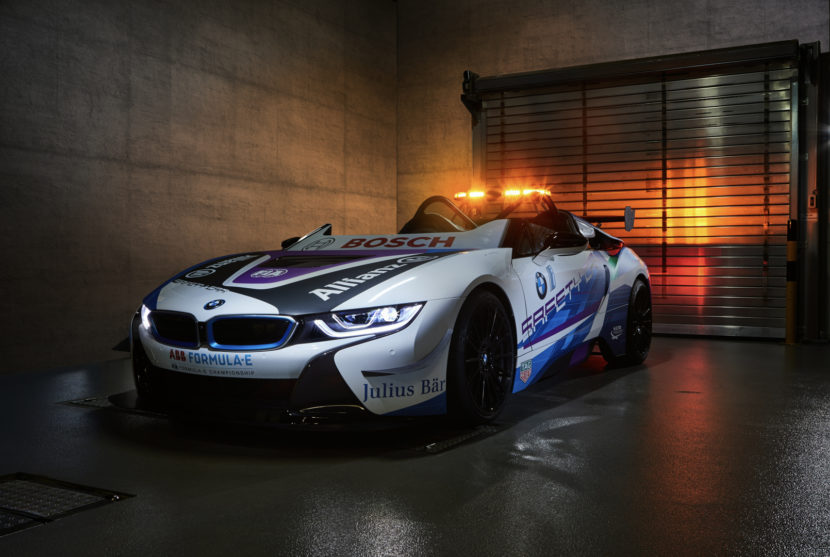 BMW i8 Safety Car 1 of 3 830x557