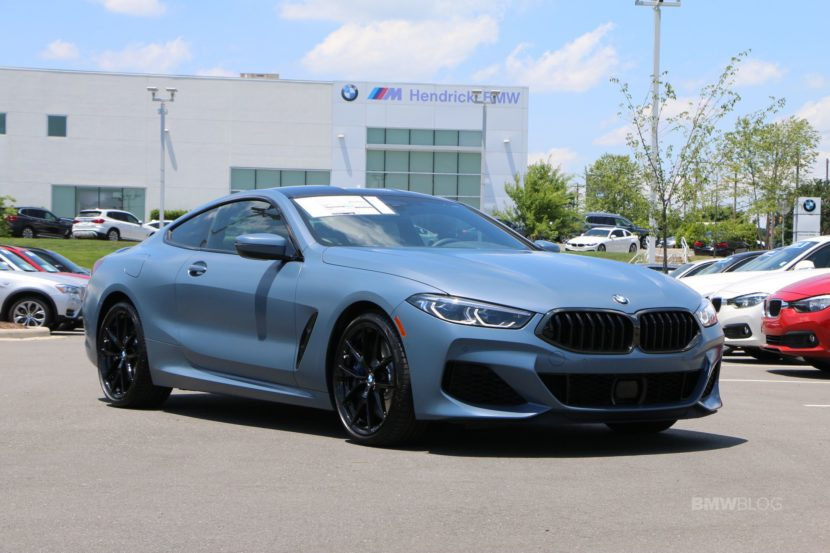 Frozen Barcelona Blue Metallic 2019 BMW M850i 0AFirst Edition 01 830x553