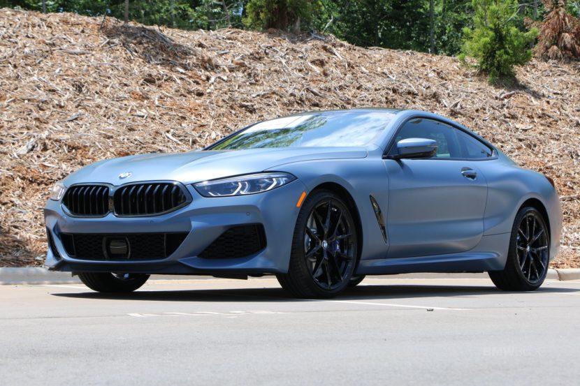 Frozen Barcelona Blue Metallic 2019 BMW M850i 0AFirst Edition 07 830x553
