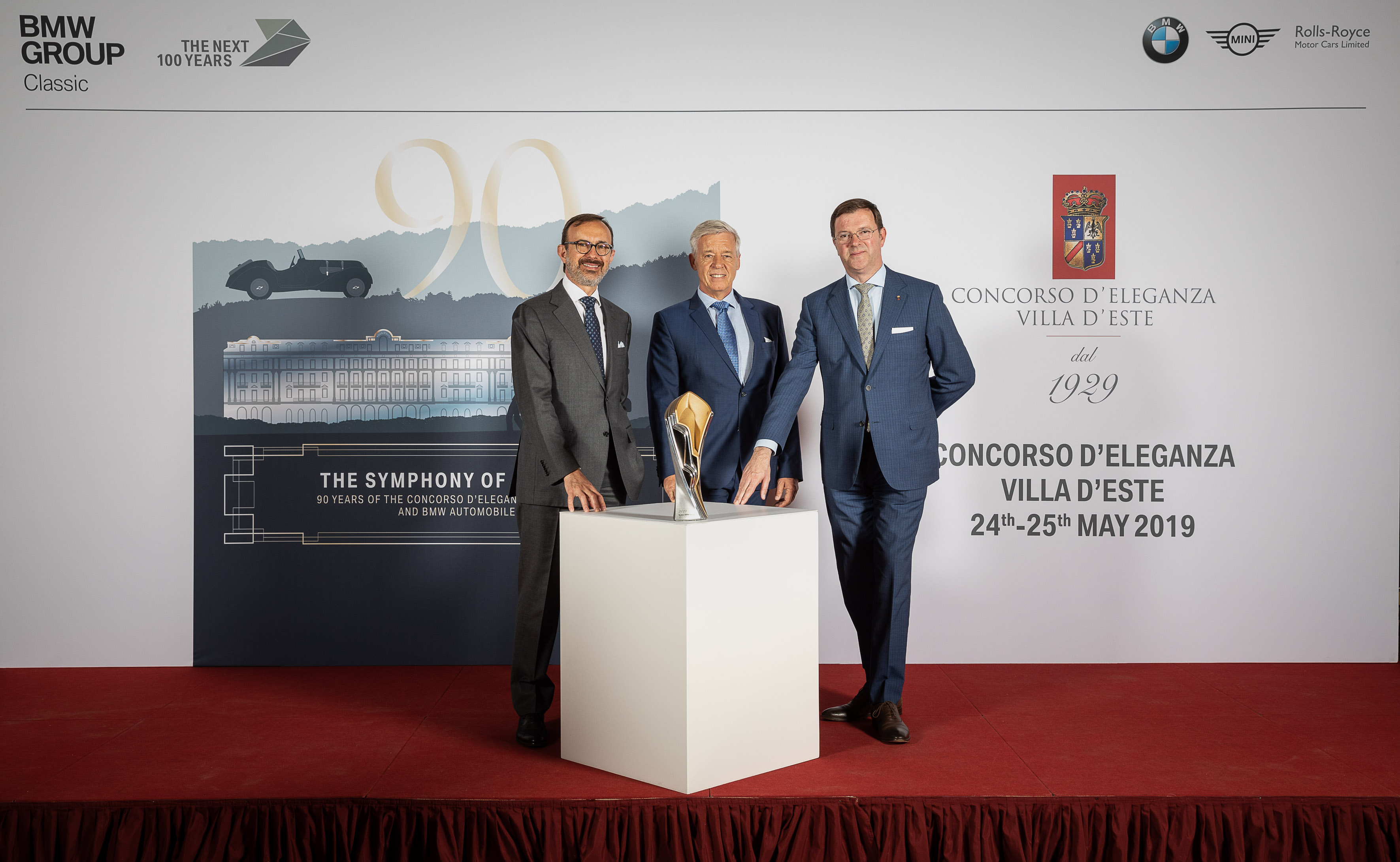 New Trophy for Concorso d'Eleganza Villa d'Este Unveiled in Full