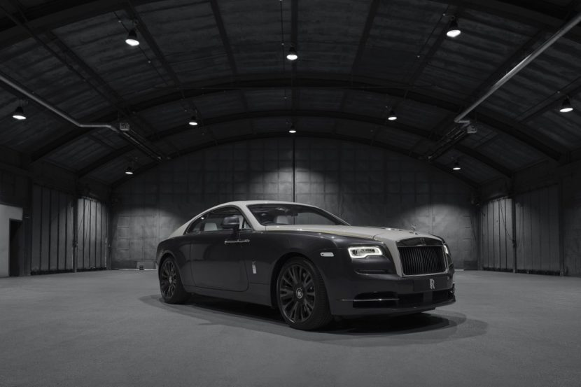 Rolls Royce Wraith Eagle VIII Collection 4 830x553