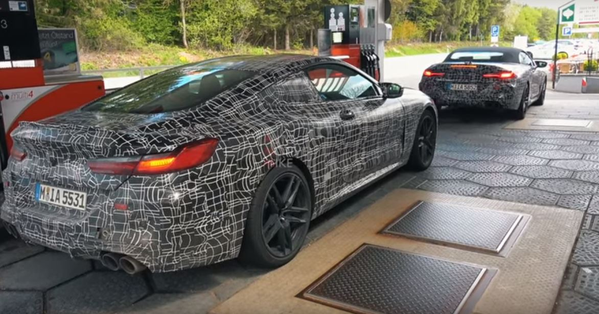 Video: BMW M8 Prototypes Continue Heavy Testing