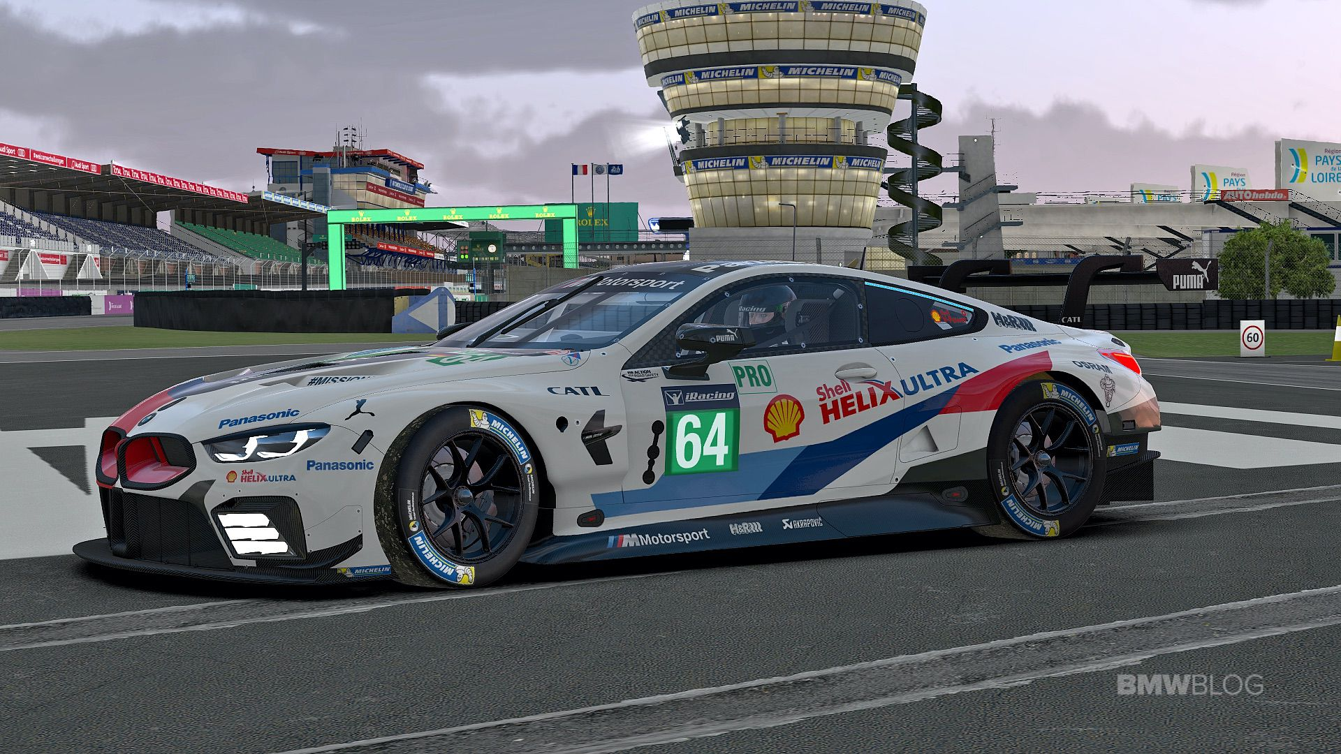 iRacing BMW M8 GTE 01