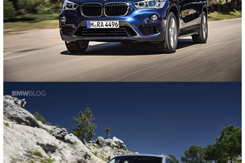 new BMW x1 old bmw x1 830x553