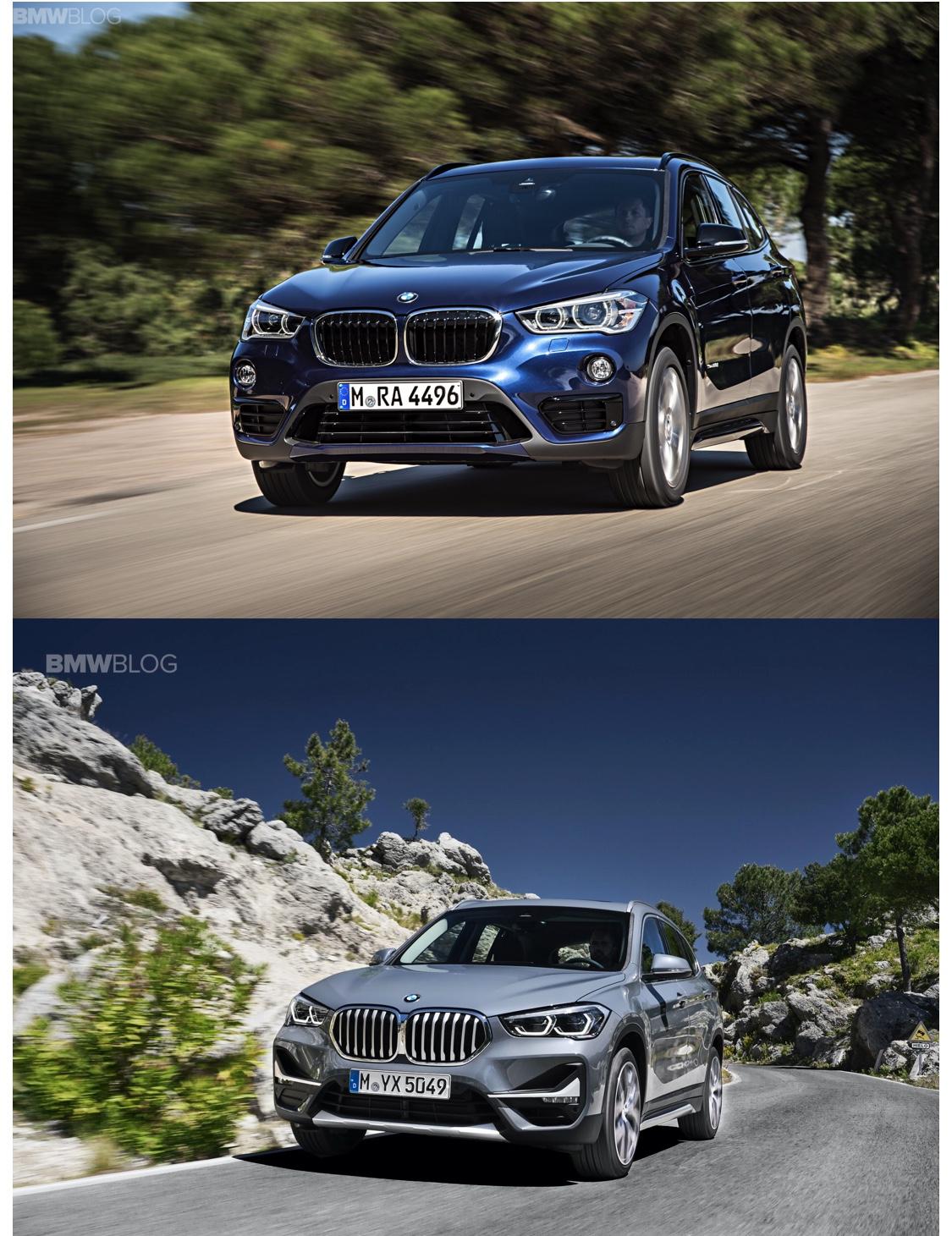 new BMW x1 old bmw x1