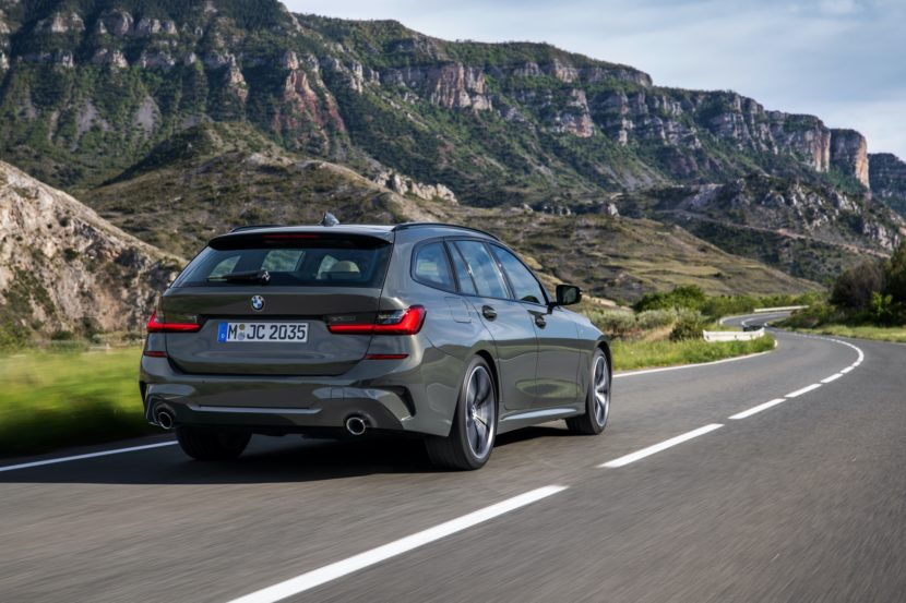 World Premiere The New Bmw 330e Touring Plug In Hybrid With 63 Km