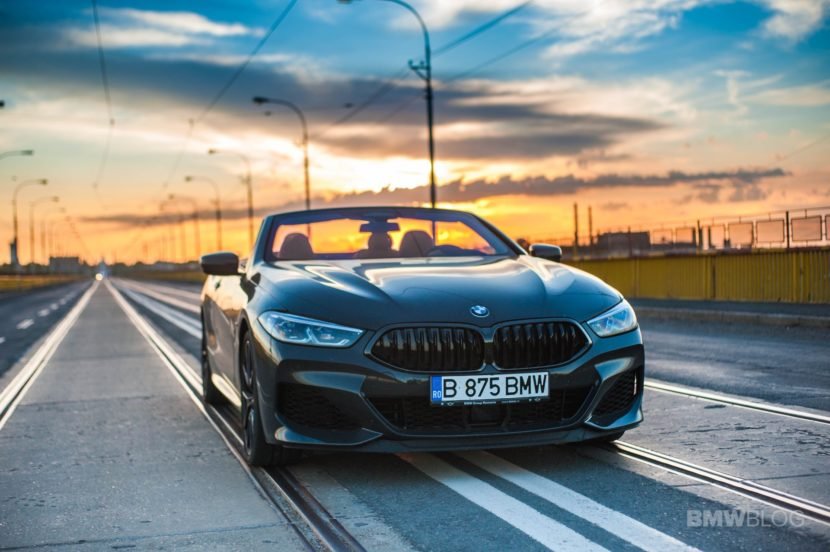 2019 BMW M850i Convertible test drive 09 830x552