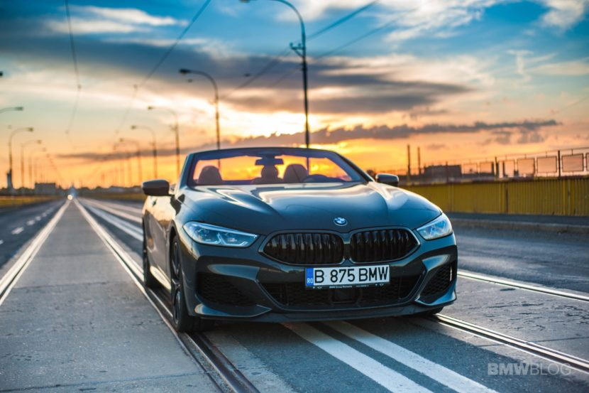 2019 BMW M850i Convertible test drive 09 830x553