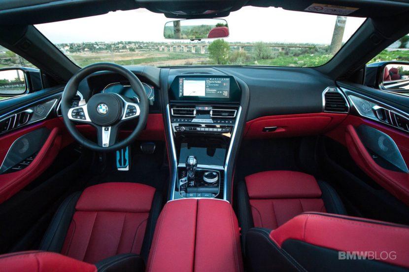 2019 BMW M850i Convertible test drive 12 830x552