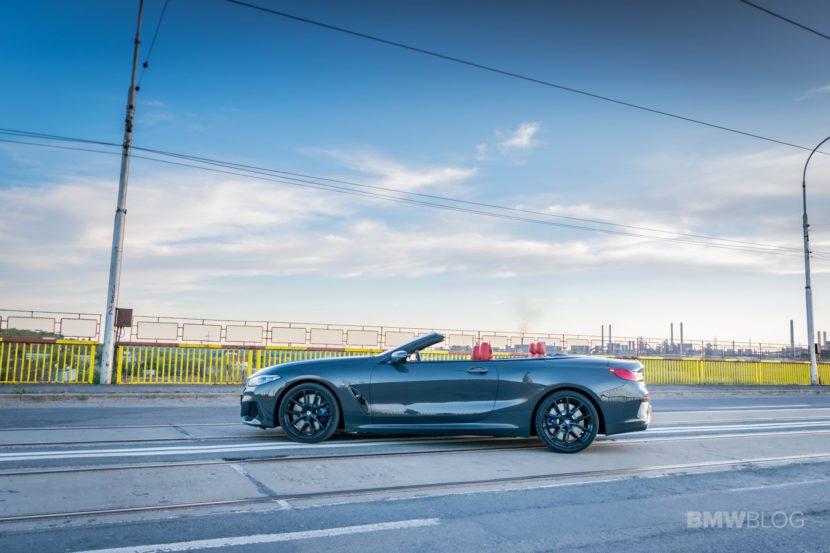 2019 BMW M850i Convertible test drive 43 830x553