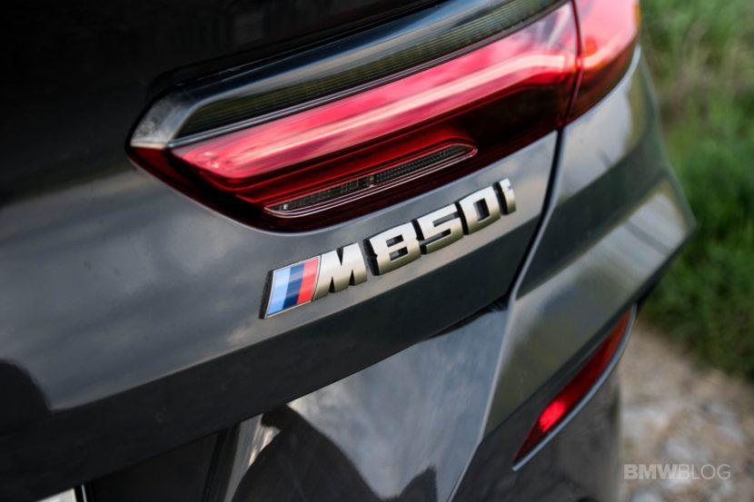 2019 BMW M850i Convertible test drive 76 830x553