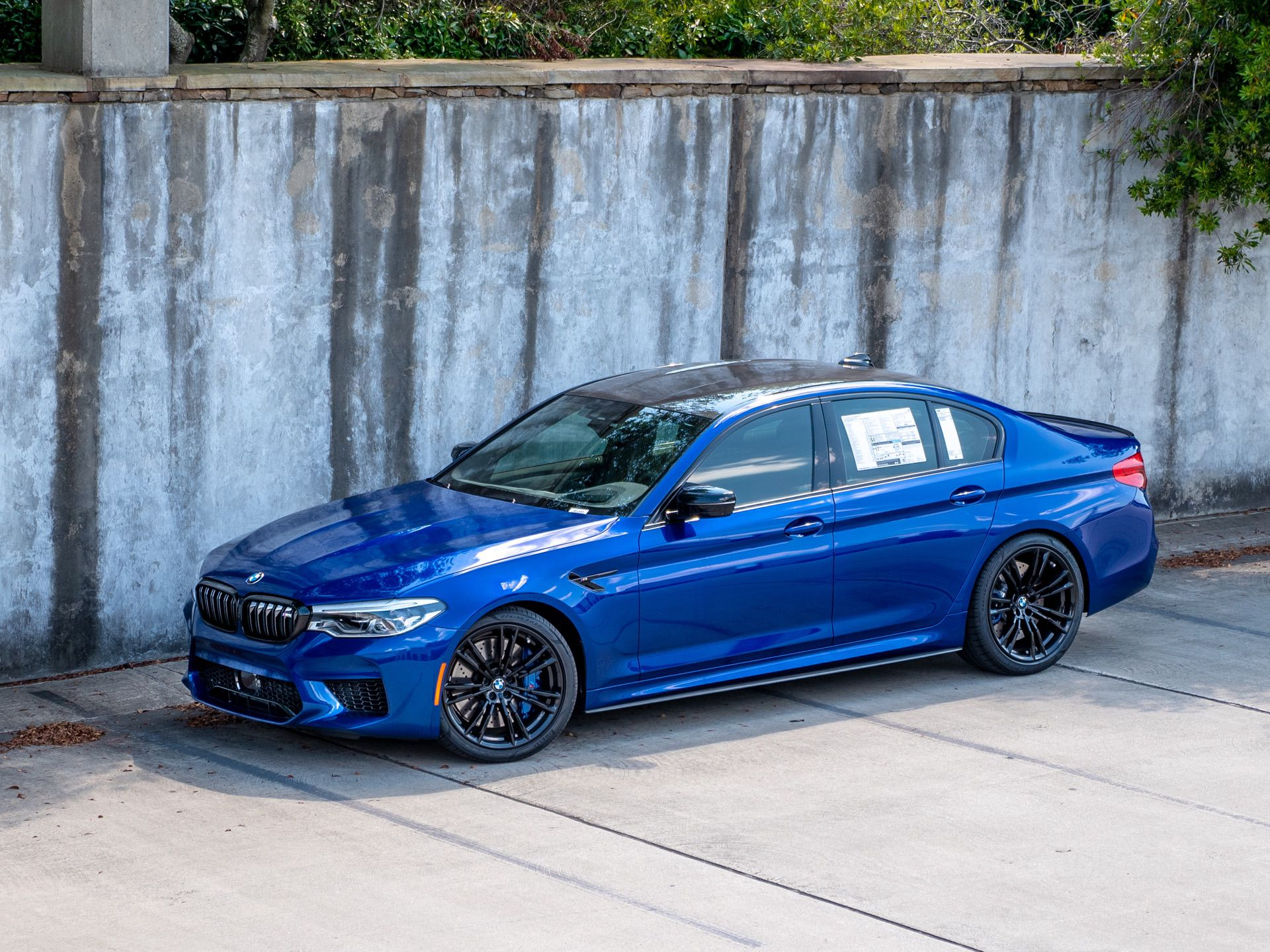 2019 Bmw M5 Competition In Marina Bay Blue Metallic New Photos