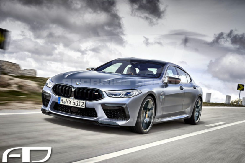 2020 BMW M8 Gran Coupe Ascarissdesign 830x553
