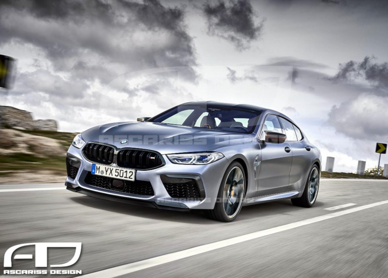 2020 BMW M8 Gran Coupe Ascarissdesign
